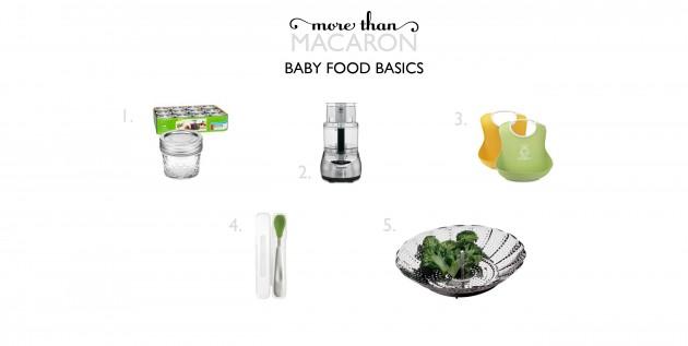 baby food basics
